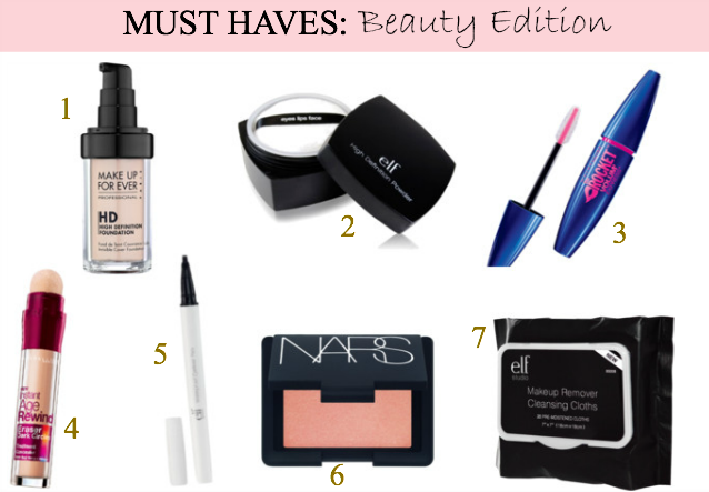 Top Beauty Must Have Products