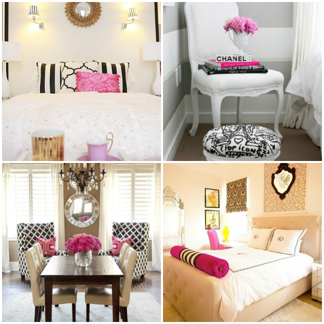 black white and pink bedroom decorating ideas bedroom design inspiration take 2 the southern thing 21043