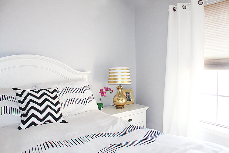 Why i chose a bright color scheme for our home for Black pink and white bedroom designs