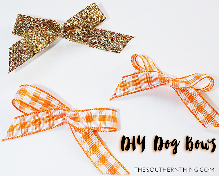 How To Make Bows Stay In Dog