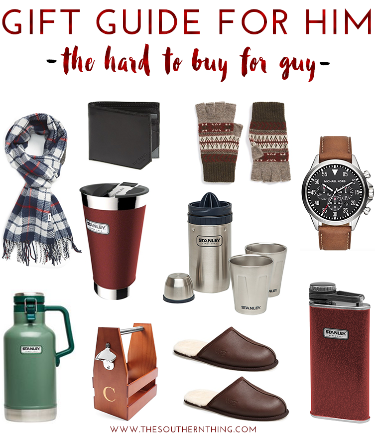 Gift Guide For Him The Hard To Guy