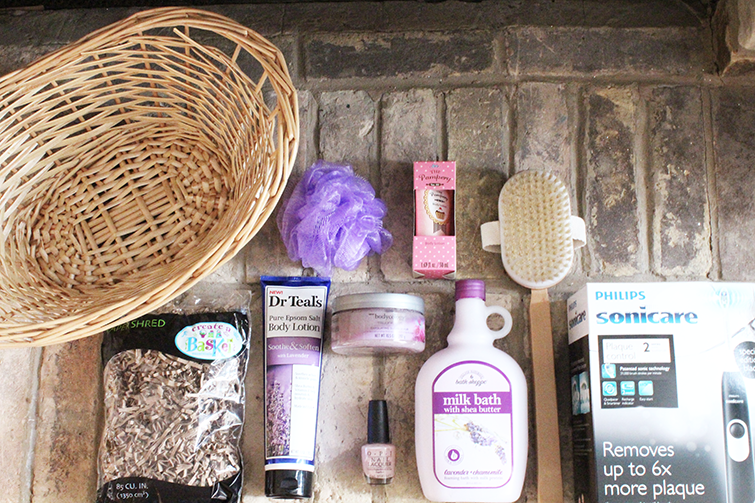 Diy Spa Gift Basket The Southern Thing
