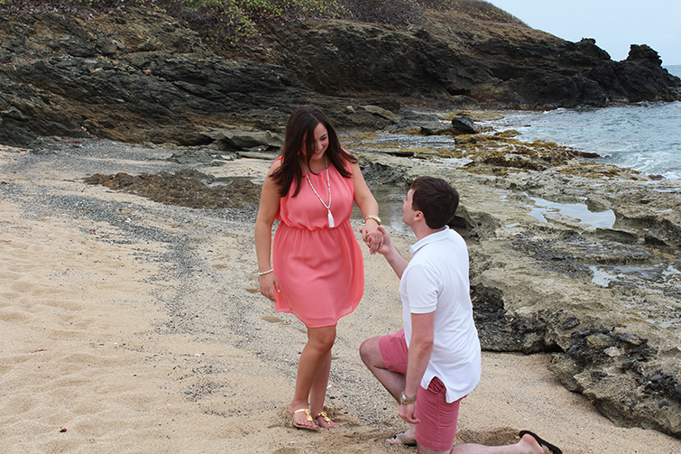 proposal in st croix