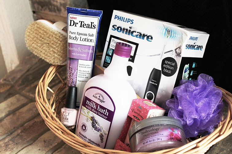 DIY Spa Gift Basket • The Southern Thing