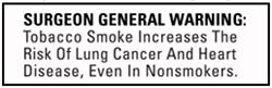surgeon general warning