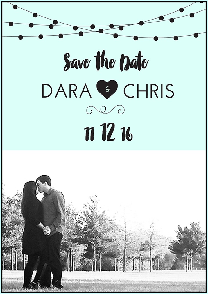 Free Save The Date Templates DIY Save The Date Tutorial - Diy save the dates templates