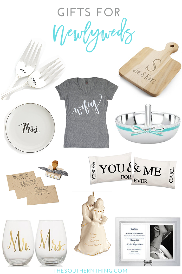 Gifts for Newlyweds: The Ultimate Gift Guide for the Bride and Groom