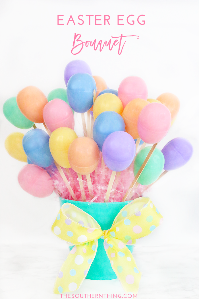 diy easter egg bouquet tutorial how to make an easter egg bouquet