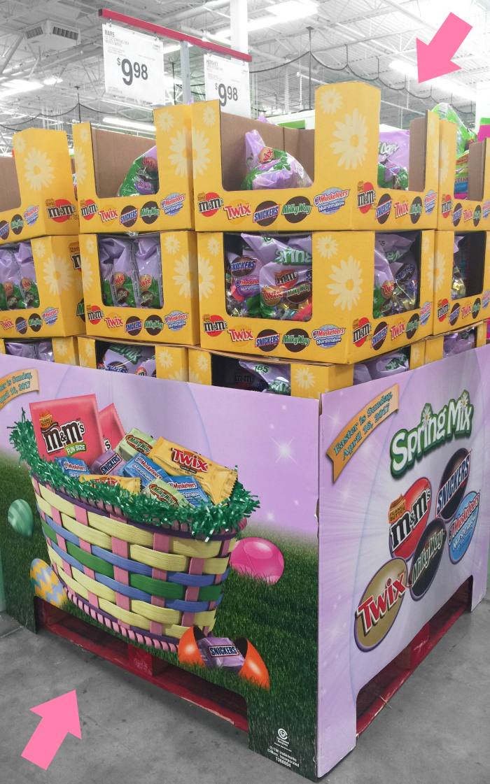 Mars Easter Candy at Sam's Club