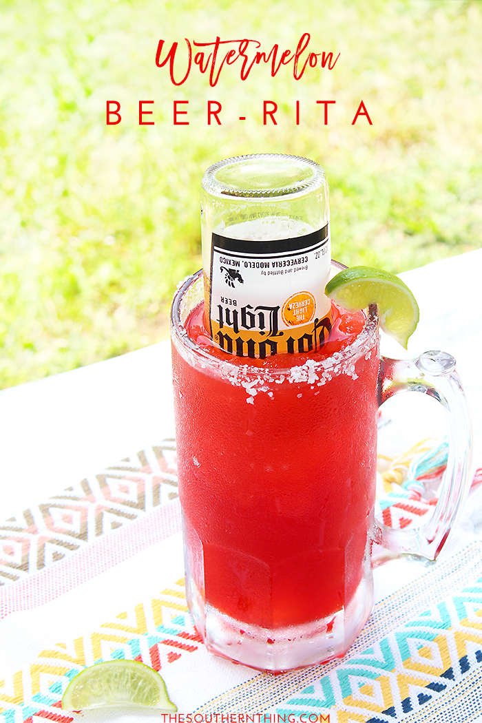 Watermelon Beer Rita | Watermelon Rita Recipe