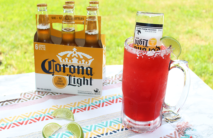 Watermelon Beerita Recipe with Corona Light