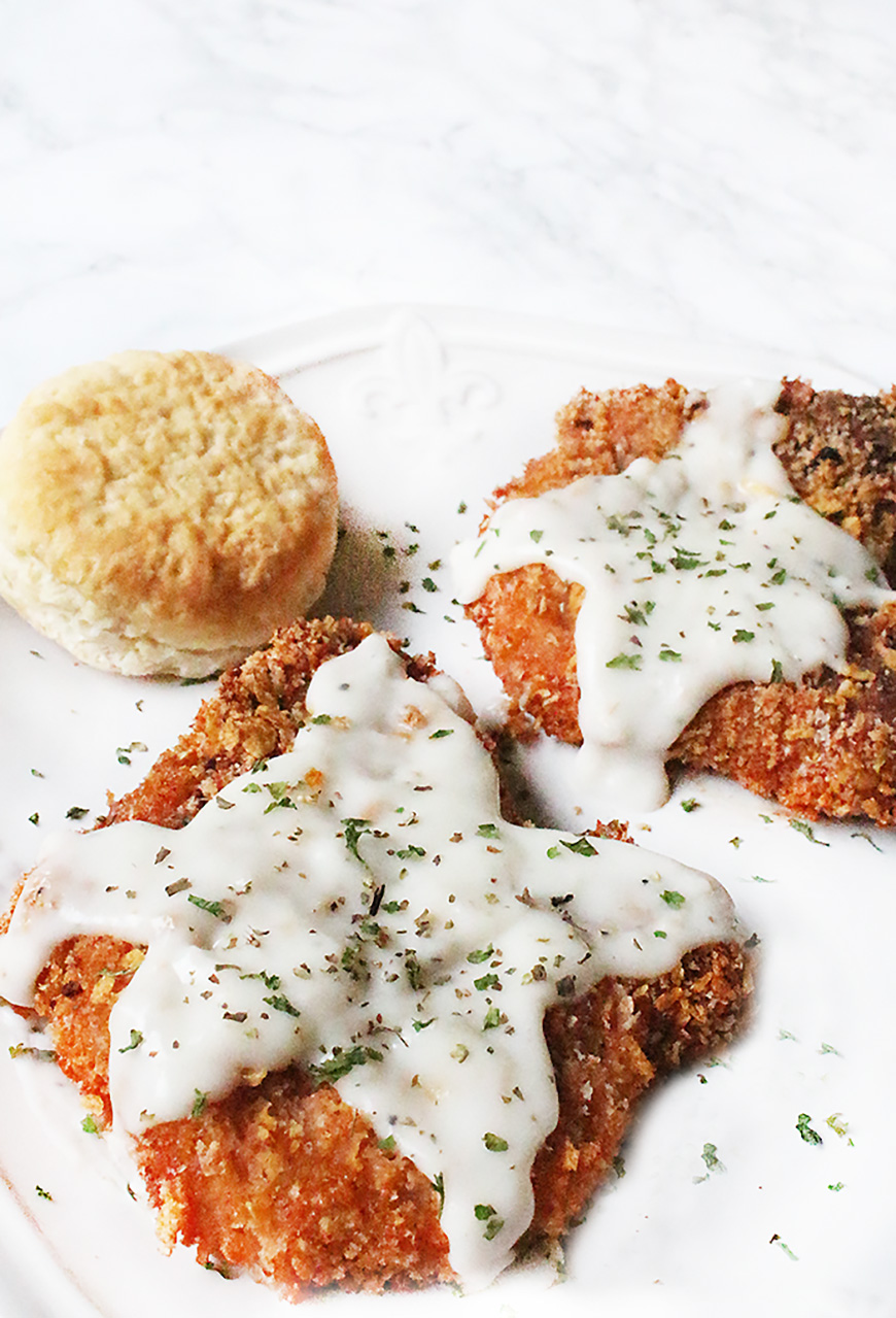 Country Oven Fried Pork Chops Recipe Southern Style Breaded Pork Chops The Southern Thing