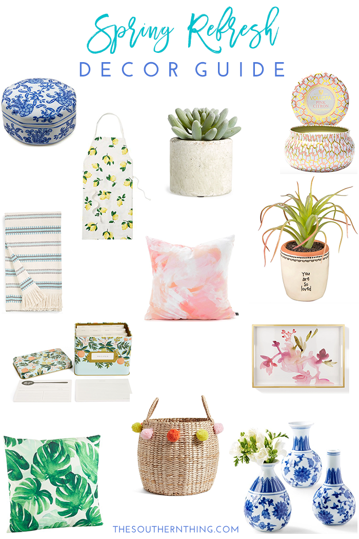 2017 Spring Home Tour: Spring Home Decor Guide: Refresh & Update Your Home For