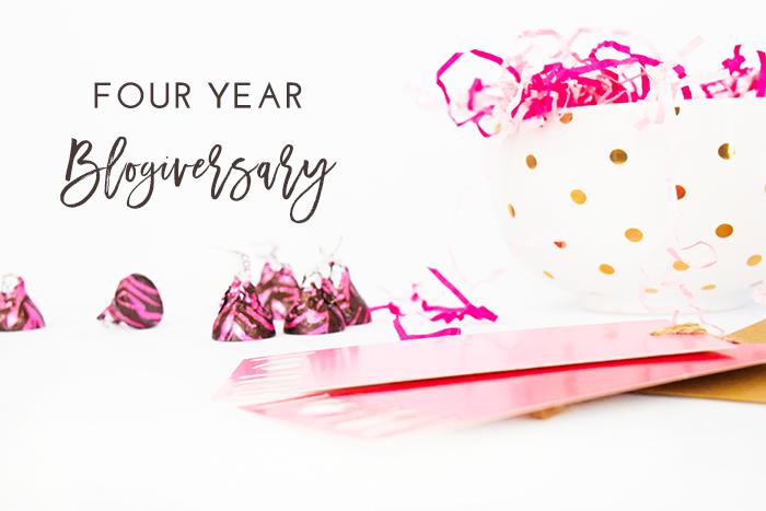 4 year blogiversary