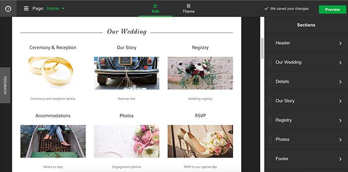 How to Build a Wedding Website