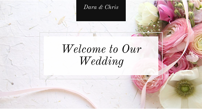 10 Things to Include on Wedding Website