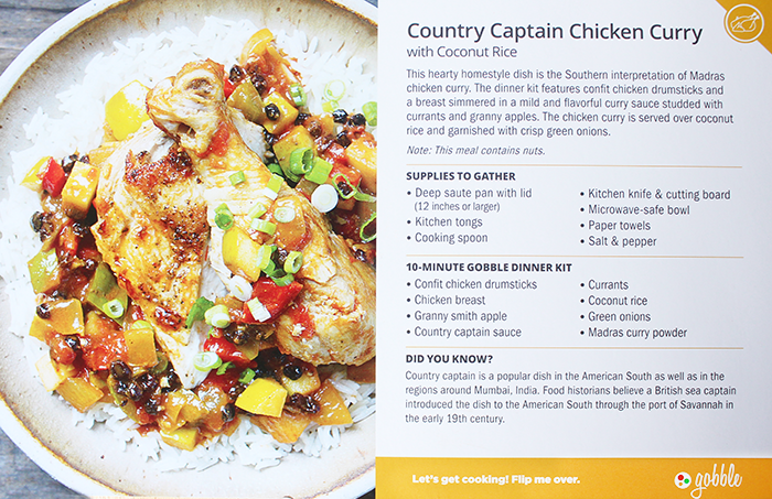 Country Captain Chicken Curry Gobble Recipe