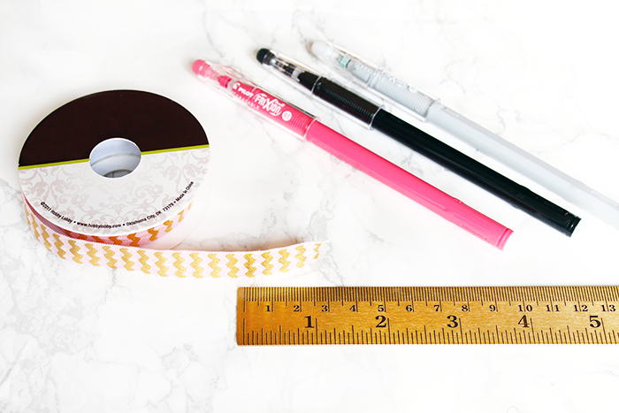 DIY Planner Band Pen Holder Tutorial   DIY Elastic Planner Band