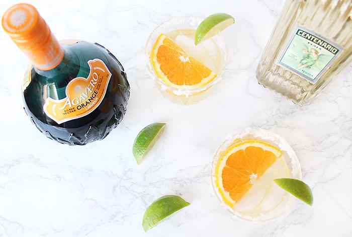 Orange Mango Margarita Recipe with Agavero Orange Tequila