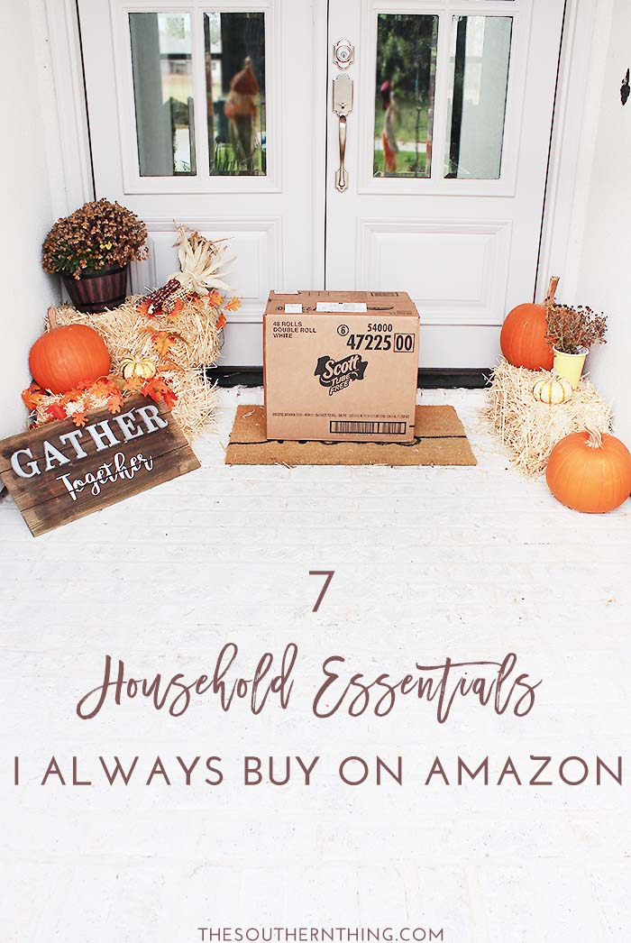 7 Household Essentials I Always Buy on Amazon: A List of the Best Home Essentials You Should Never Buy in Store