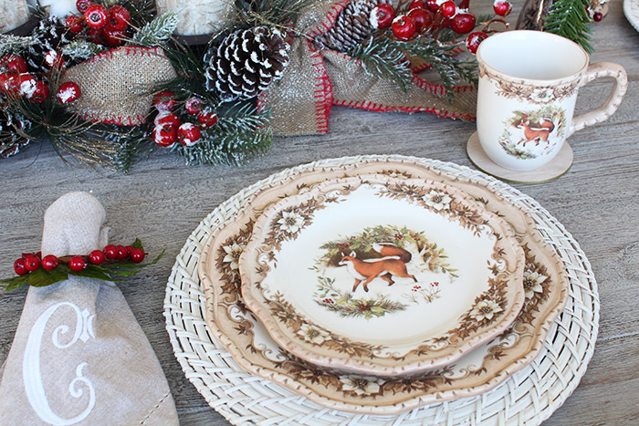 Cracker Barrel Holiday Plates