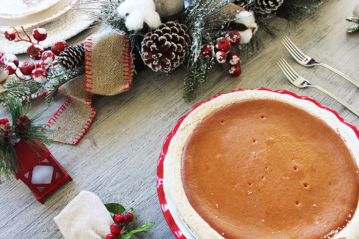 Cracker Barrel Holiday Pumpkin Pie
