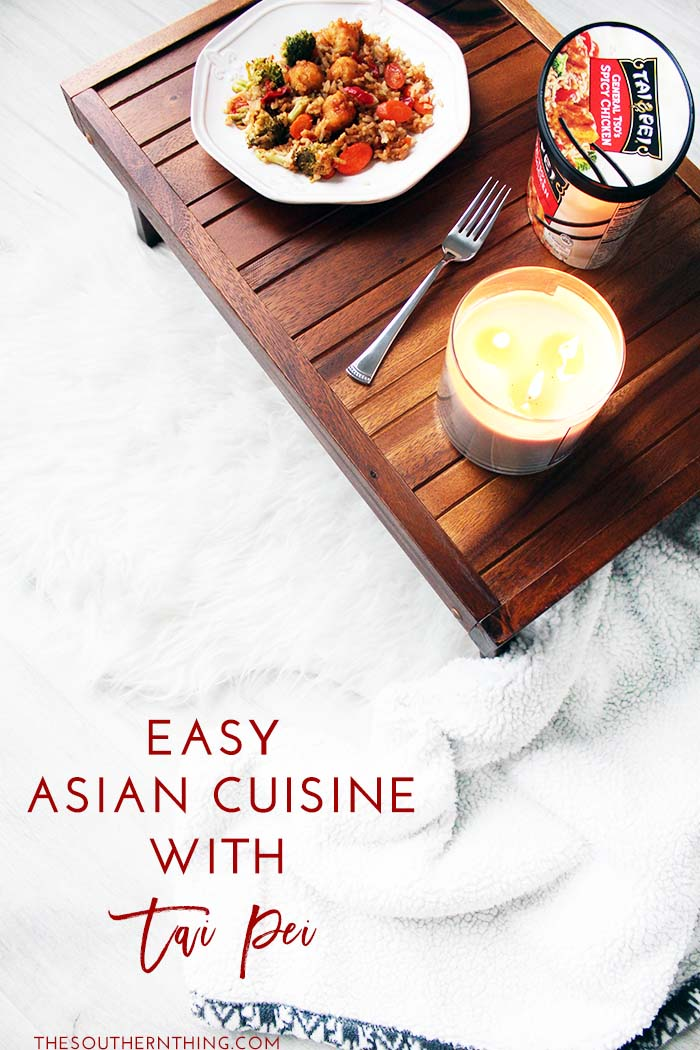 Easy Asian Cuisine with Tai Pei
