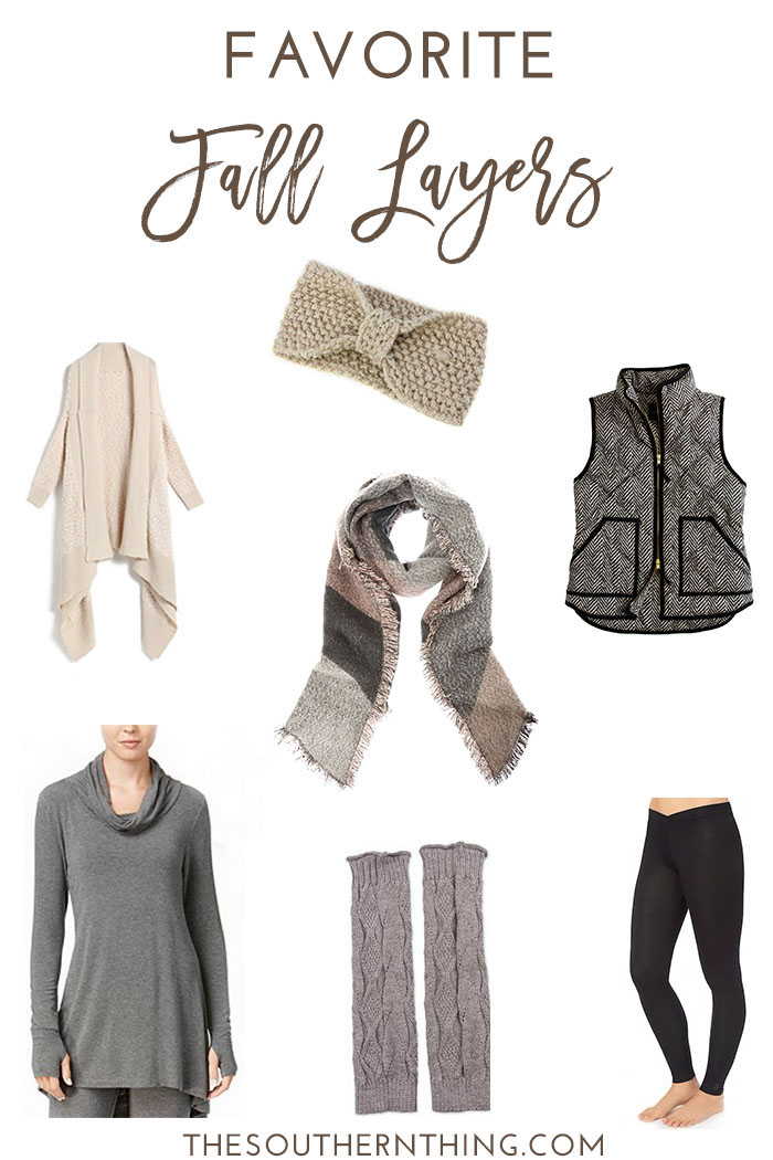 Favorite Fall Layers: How to Layer for Fall