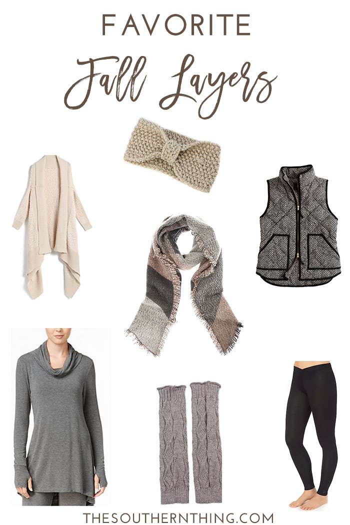 Favorite Fall Layers