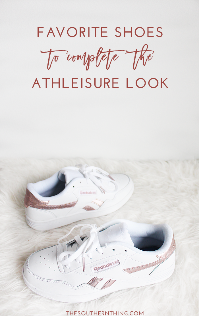 Favorite Athleisure Shoes to Complete the Athleisure Look