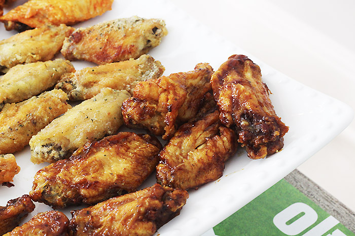 Homegating Football Party Wing Bar