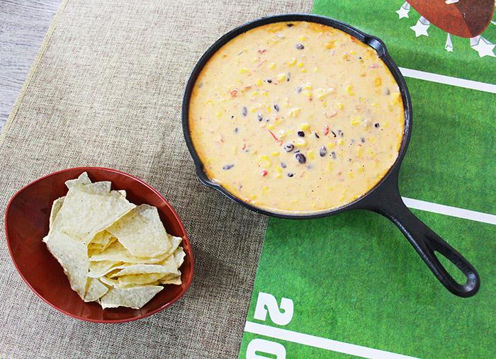 Skillet Cowboy Queso Dip Recipe