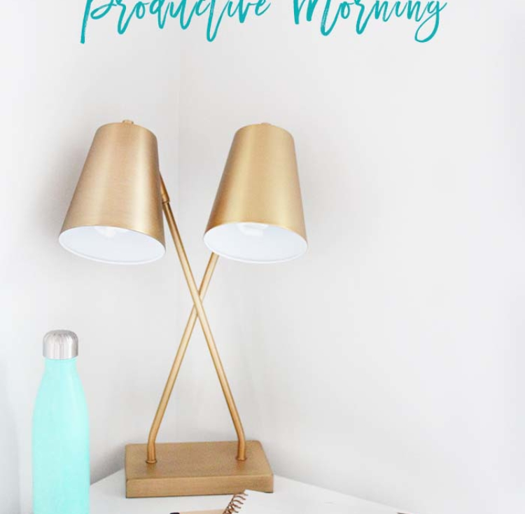 Five Steps to a More Productive Morning