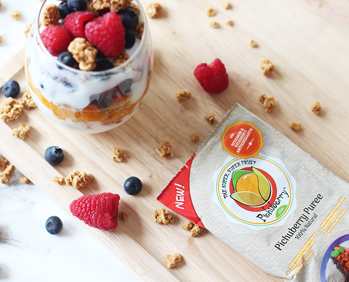 Pichuberry Superfood Parfait