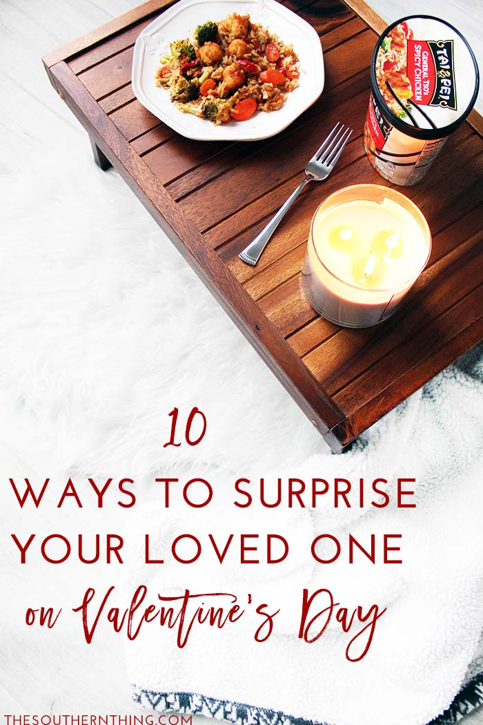 10 Ways to Surprise Your Loved One on Valentine's Day