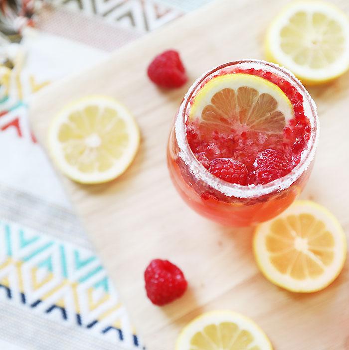 Raspberry Limoncello Prosecco Recipe