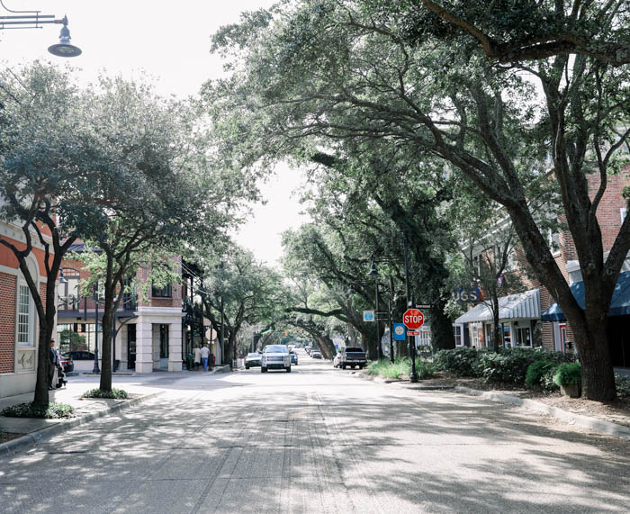 Downtown Ocean Springs Mississippi